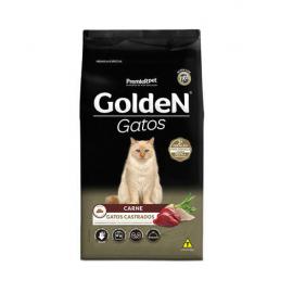 Golden Gatos Castrados Carne Adulto 1kg