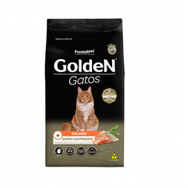 Golden Gatos Castrados Salmão Adulto 10kg