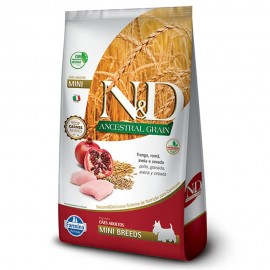 N&D Ancestral Grain Frango Adulto Mini Breeds 2,5 kg