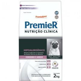 Premier Nutrição Clínica Hipoalergênico Adultos Porte Pequeno 2 kg