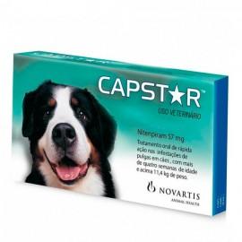 Capstar 57 mg Cães de 11,5 kg a 57 kg