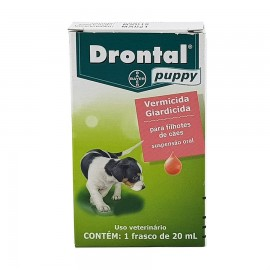Drontal Puppy Vermífugo Suspenção Oral 20 ml