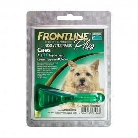 Frontline Plus Antipulgas Cães até 10 kg