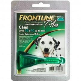 Frontline Plus Antipulgas Cães de 20 kg a 40 kg