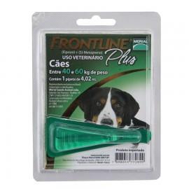 Frontline Plus Antipulgas Cães de 40 kg a 60 kg