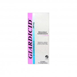 Giardicid 500 mg Com 5 Comprimidos