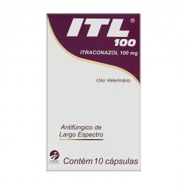 ITL 100 mg Com 10 Cápsulas