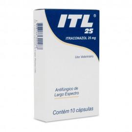 ITL 25 mg Com 10 Cápsulas