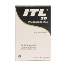 ITL 50 mg Com 10 Cápsulas