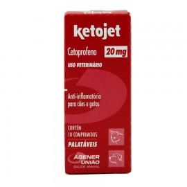 Ketojet 20 mg Com 10 Comprimidos
