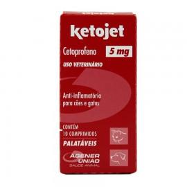 Ketojet 5 mg Com 10 Comrpimidos
