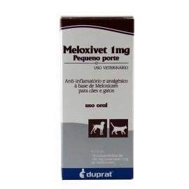 Meloxivet 1 mg Pequeno Porte