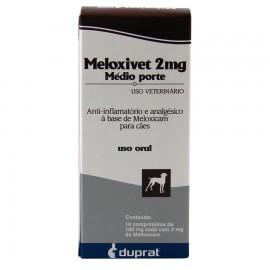 Meloxivet 2 mg Médio Porte