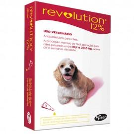 Revolution Antipulgas Cães 10,1 a 20 kg Vermelho
