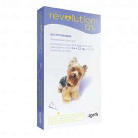 Revolution Antipulgas Cães 2,5 a 5 kg Roxo