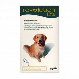 Revolution Antipulgas Cães 20,1 a 40 kg Verde