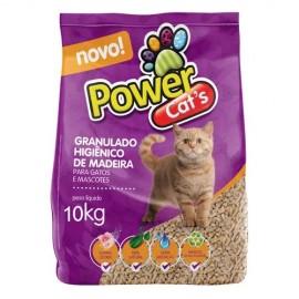 Granulado de Madeira Power Cats 10 kg