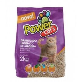 Granulado de Madeira Power Cats 2 kg