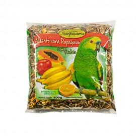 Nutripássaros Alimento Para Papagaios 500 g