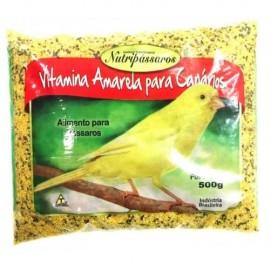 Nutripássaros Vitamina Amarela Para Canários 500 g