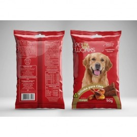 Bifinho Pet Works Frango 50 g