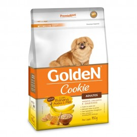 Golden Cookie Adultos Banana, Aveia e Mel 350 g