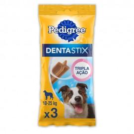 Dentastix Cuidado Oral Raças Médias 3 Unidades 77 g