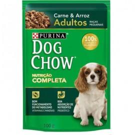 Dog Chow Sachê Nutrição Completa Carne e Arroz 100 g