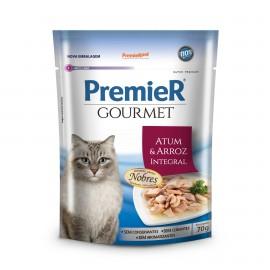 Premier Gourmet Gatos Sachê Atum 70 g