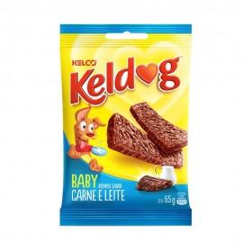 Bifinho Keldog Baby Carne e Leite 65 g