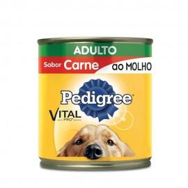 Pedigree Lata Carne Ao Molho Adulto 290 g