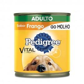 Pedigree Lata Frango Ao Molho Adulto 290 g