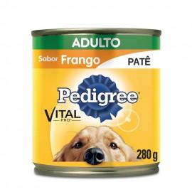 Pedigree Lata Patê De Frango Adulto 280 g