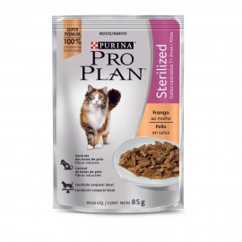 Pro Plan Sachê Gatos Sterilized Adultos 85 g