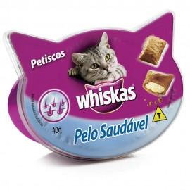 Whiskas Temptations Pelo Saudável Adultos 40 g